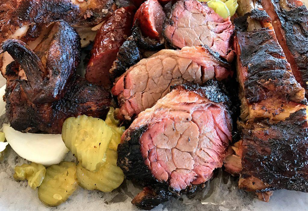 Brisket Fargo's BBQ