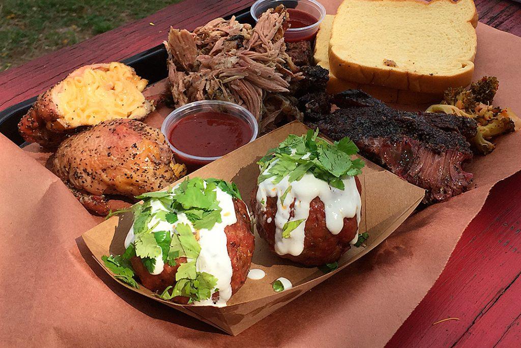 Beef cheeks LeRoy & Lewis Texas BBQ Austin