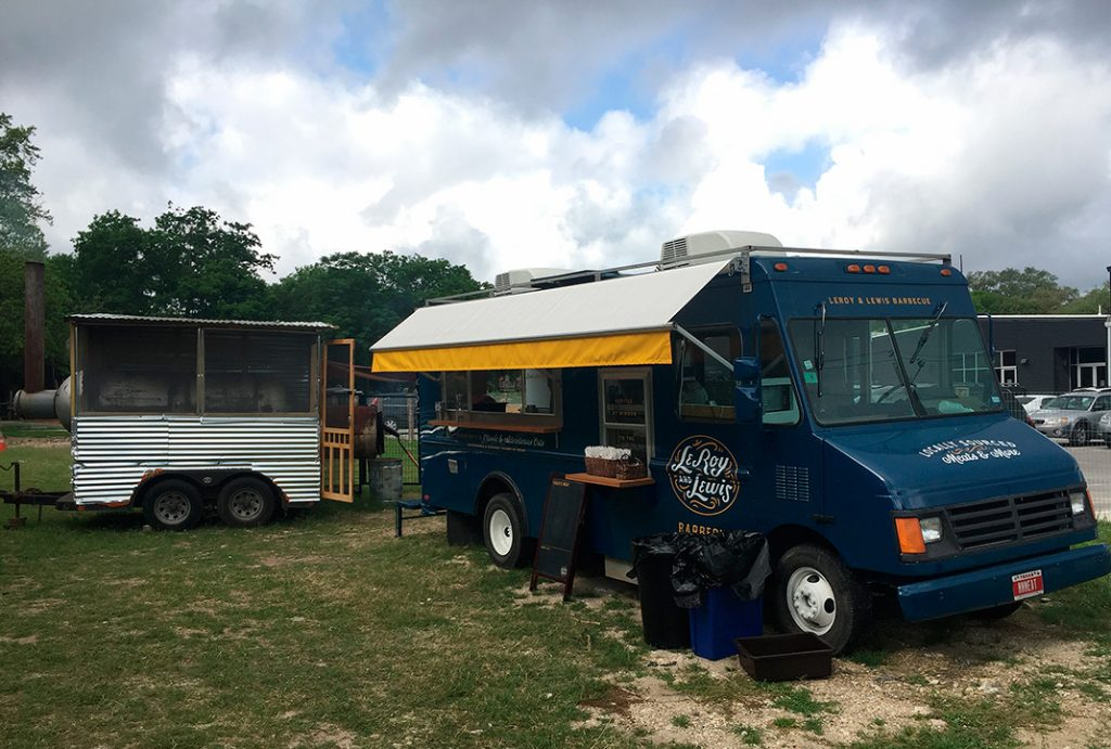LeRoy and Lewis food truck Austin