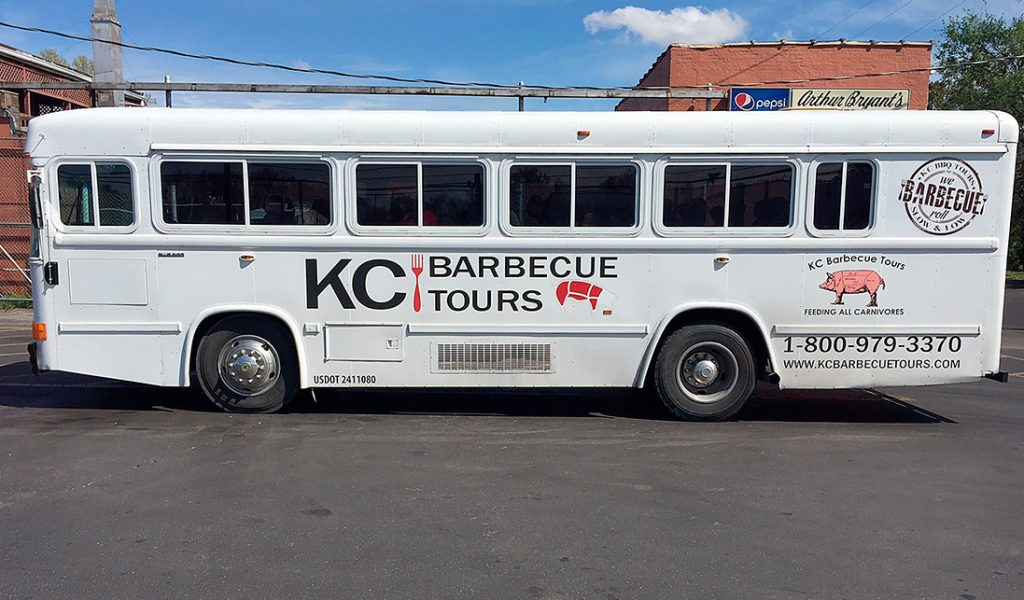 Sonny Bryant's Barbeque tour bus