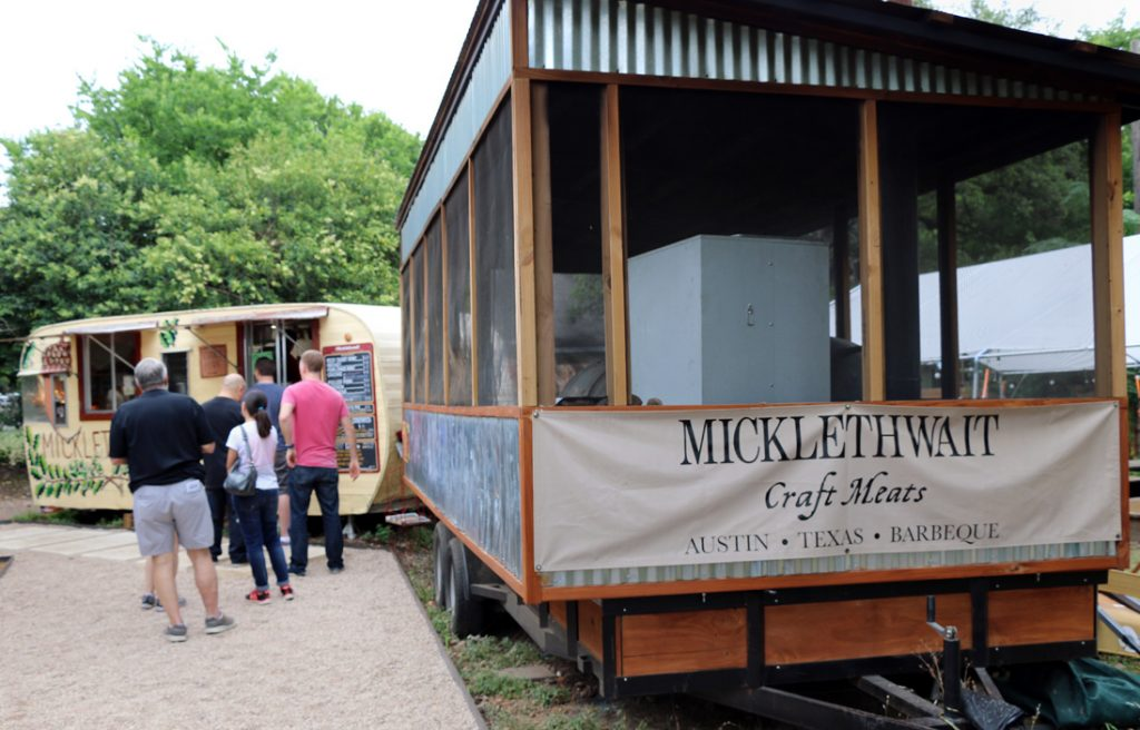 Photo of line at Micklethwait Craft Meats