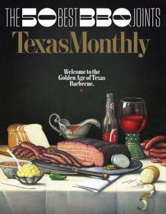 Photo of 2017 Texas Monthly Top 50 BBQ issue