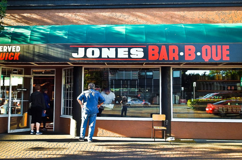 Photo of Jones Bar-B-Que in Victoria.