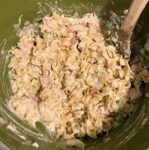 Greenberg smoked turkey tetrazzini