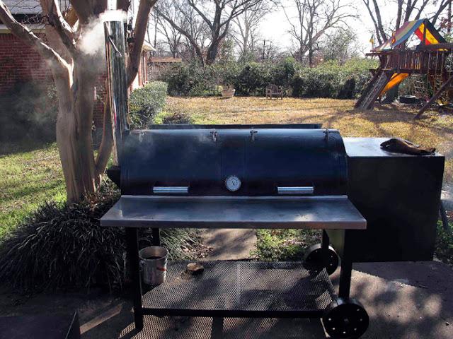 backyard smoked brisket pic4