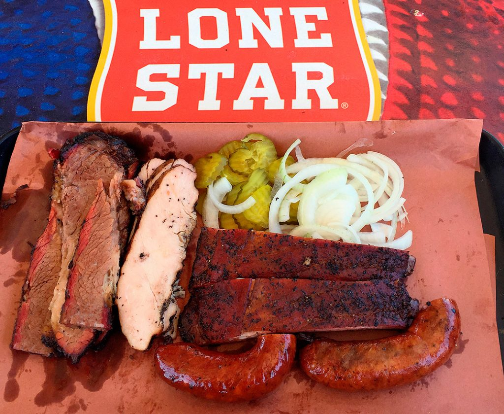 Photo of meats at Hays County Bar-B-Que