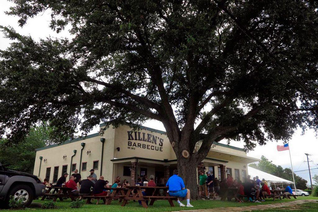 Killen's BBQ line