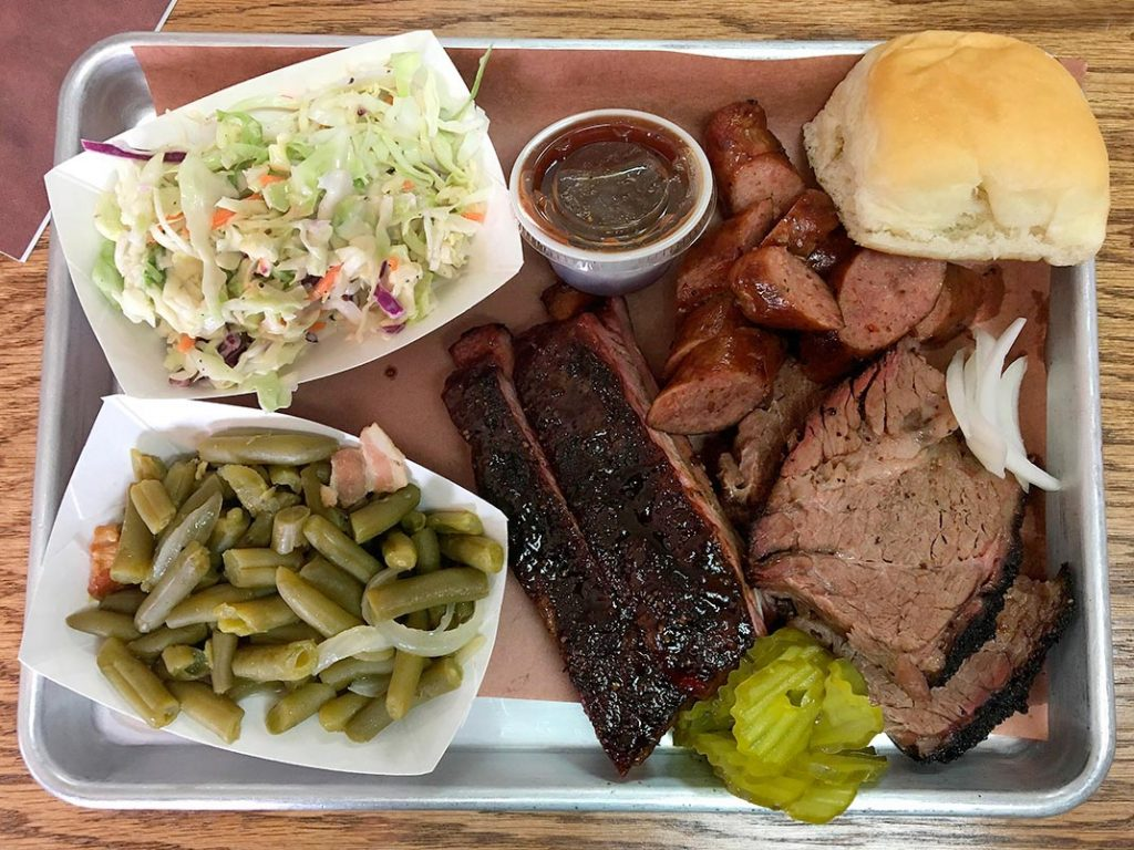 Photo of food at 4-T's Bar-B-Q & Catering