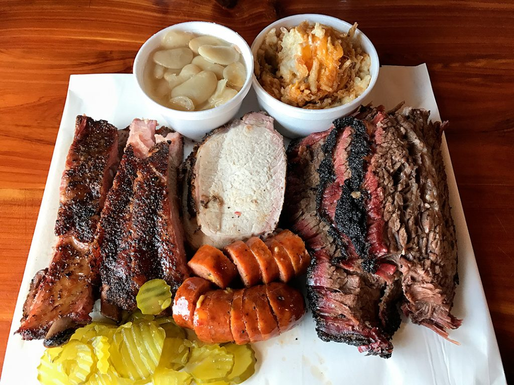 Photo of meats at Opie's BBQ