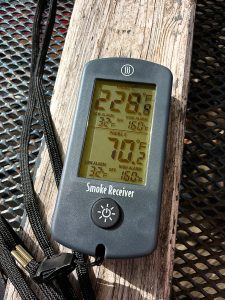 Photo of the Smoke dual-channel thermometer