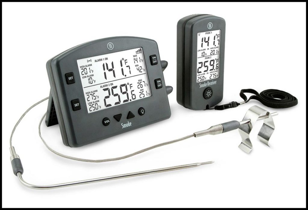 Photo of the The Smoke Smoke dual-channel thermometer