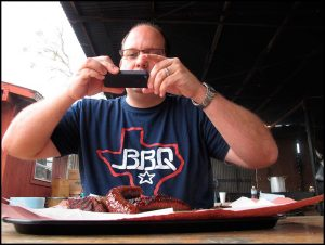 Photo of Texas Monthly barbecue editor Daniel Vaughn