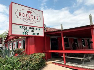 Photo at Roegels Barbecue Co. in Houston.