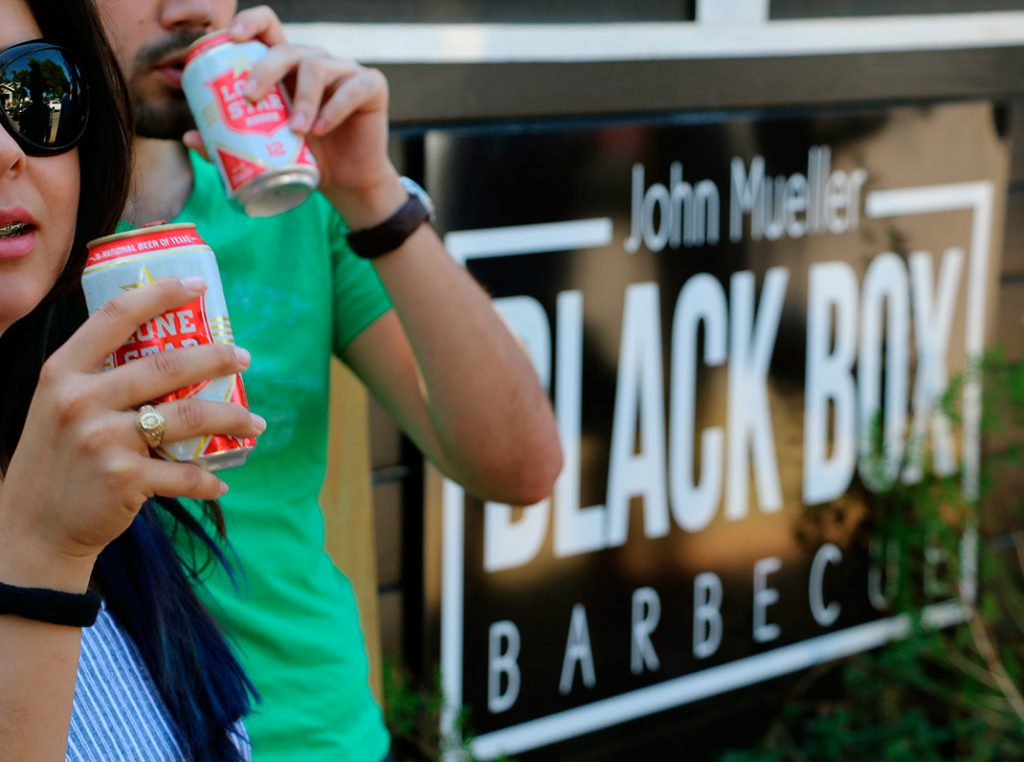 Photo of John Mueller Black Box Barbecue in Georgetown.