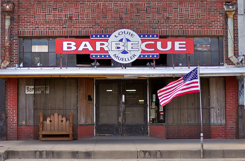 Photo of Louie Mueller Barbecue in Taylor.