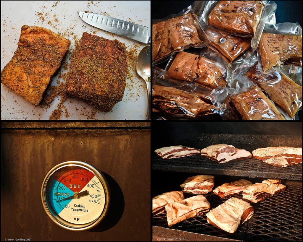 Smoked bacon recipe