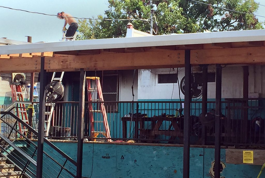 Repairs at Franklin Barbecue