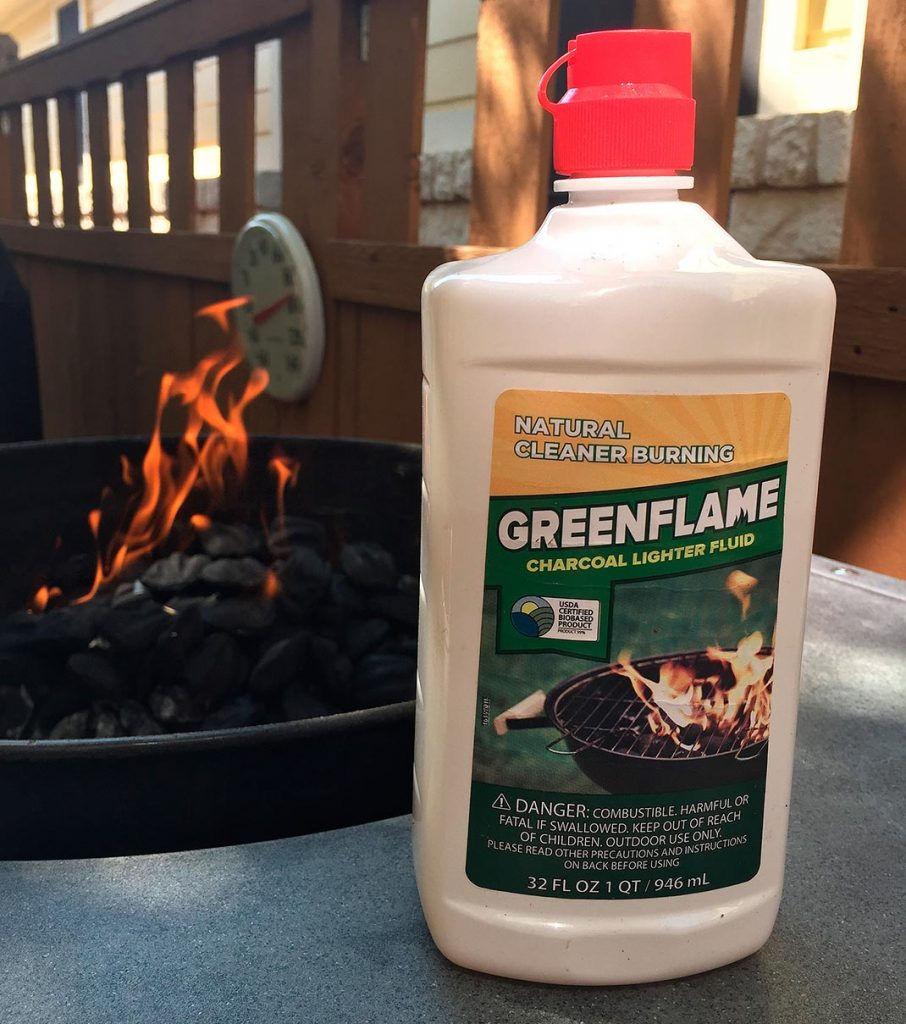 GreenFlame lighter fluid
