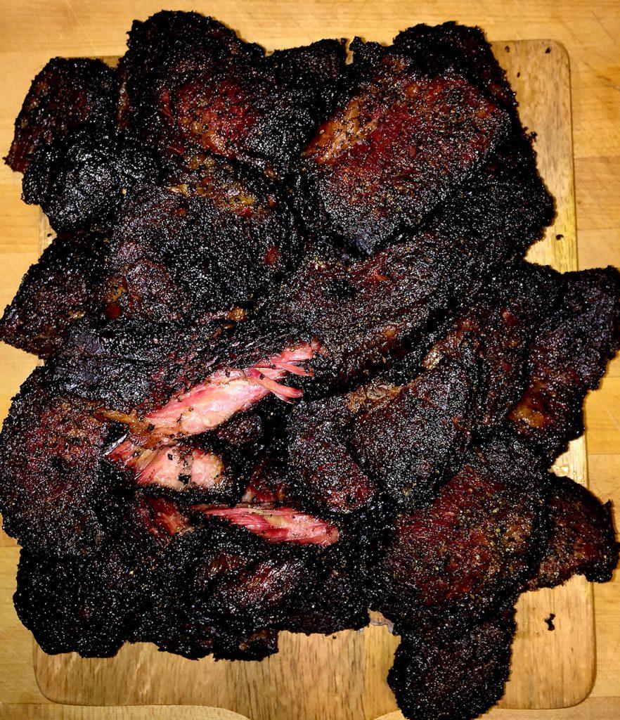 Brisket burnt ends