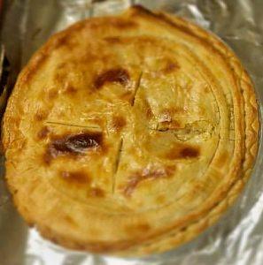 Greenberg smoked pot pie