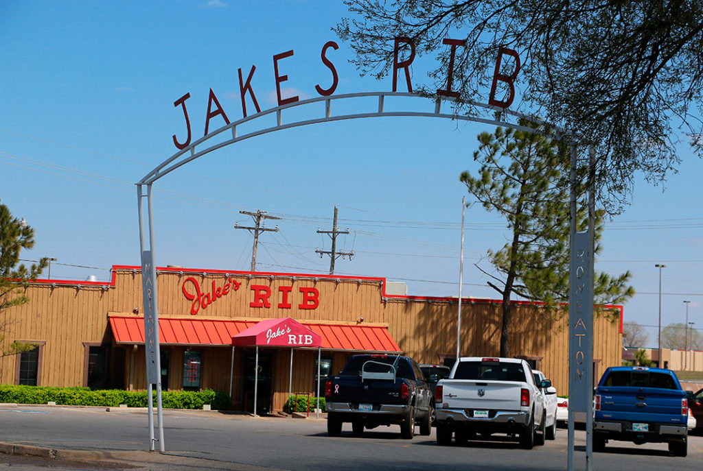 Jake's Rib in Chickasaw, Oklahoma